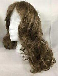 Shoulder Length Under Hat Scarf Hair Piece Head Band Only Partial Wig NIP New $19.95