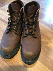 redwing work boots 9 1 2 E