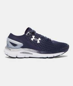 UNDER ARMOUR UA SPEEDFORM GEMINI 2 RUNNING SHOES NAVY MEN 10.5 NEW 1266212 411 $129.99