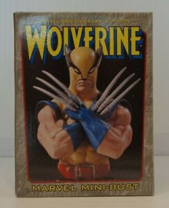 Bowen Designs WOLVERINE 25th Anniversary GOLD BASE Mini Bust 871 2000 FANDOM $44.95