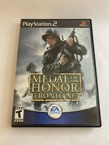 Metal of Honor: Frontline Playstation 2 PS2 Complete With Manual registration $9.99
