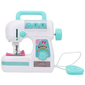 Electric Small Sewing Machine Educational Toy Set Kids Children Interactive Gift $24.67