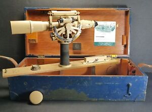 1951 U.S. Military Used KEUFFEL amp; ESSER Table Alidade Model 5093A Special w Case