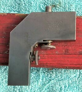 LUFKIN 18B COMBINATION SQUARE STEEL RULE RIGHT ANGLE ATTACHMENT MACHINIST TOOL $23.75