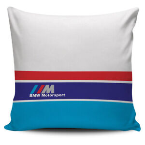 Minimalist BMW Motorsport Pillow Cover Cushion Sofa Case