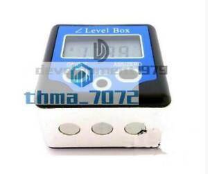 NEW Digital Box Gauge Angle Protractor Level Inclinometer Magnetic Base 0 360° $35.69