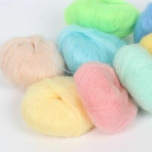 DIY Knitting Wool Yarn Mohair Crochet Cashmere Shawl Soft Supplies Thread Scarf $12.60