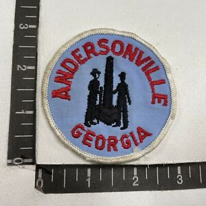 Vtg ANDERSONVILLE Georgia Patch 09R5 $7.43