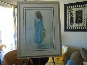 Susan Rios quot;A Familiar Walkquot; Signed amp; Numbered 193 of 250 Lithograph with COA $125.00