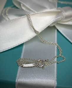 $65 Tiffany amp; Co. Sterling Silver 925 Chain Necklace 16quot; New