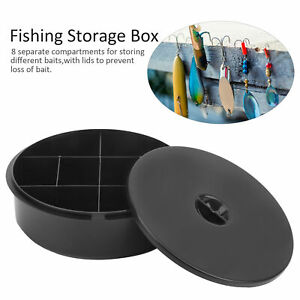 PP Fishing Storage Box Lures Bait ContainerCompartment Canoeing Kayak Accessory