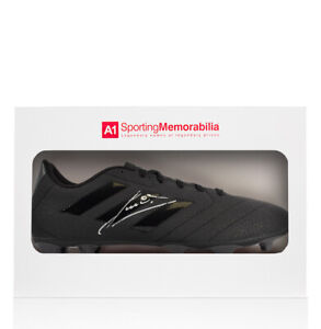 Ruud Gullit Signed Black Adidas Blackout Boot Gift Box Autograph Cleat GBP 250.99