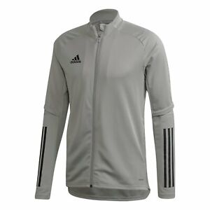 NEW FS7110 adidas Condivo 20 Training Jacket Gray Size Large $45.99