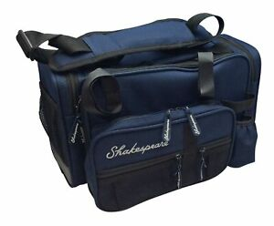 Shakespeare Lure and Accessory Bag Black Blue M
