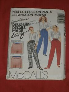 McCALL#x27;s Easy Sewing Pattern #5482 Misses Perfect Pull On Pants Size 24 $5.90