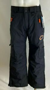 NFL CHICAGO BEARS MEN#x27;S CLASSIC CARGO WINTER SNOW SKI PANTS BLACK ALL SIZE