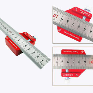 Angle Square Ruler Woodworking Scriber Ruler Carpentry Measuring Tools $20.67