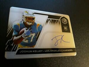 2020 Joshua Kelley Elements Rookie Auto #175 199 Chargers $13.49