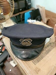 Jacob and son Size 7 Peaked Cap Hat police 48 hat vintage $58.95