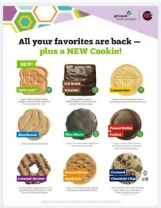 2020 21 GIRL SCOUT COOKIES READY TO SHIP 5 For $25