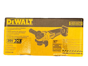 DEWALT XR DCG413B 20V MAX Brushless Small Angle Cordless Grinder Yellow NEW $126.50