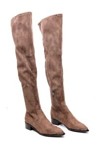 Marc Fisher Limited Yuna OTK Faux Suede DGRFB Boots size 6M NEW $58.00