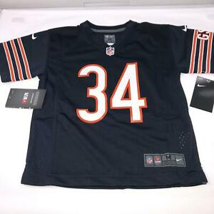 Walter Payton Chicago Bears NFL Nike Throwback Jersey Boys 5 6 Medium