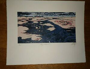 Printmaking Etching signed and numbered 6 25 My Fault $21.95