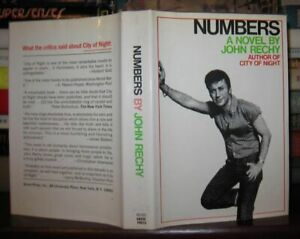 Rechy John NUMBERS 1st Edition 2nd Printing $53.95
