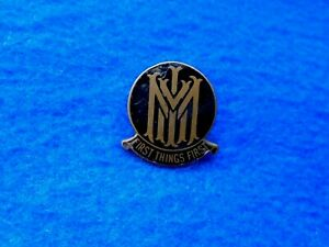 EARLY UNKNOWN M.M.I? FIRST THINGS FIRST ENAMEL LAPEL BADGE E.S.A. LONDON GBP 6.00