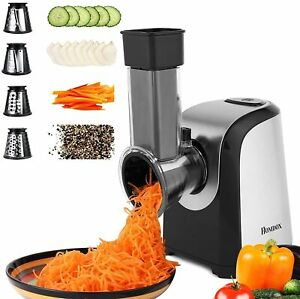 Electric Multifunction Vegetable Food Rotary Slicer Grater Chopper Kitchen