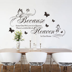 Vinyl Home Room Decor Art Quote Wall Decal Stickers Bedroom Removable Mural DIY $9.99