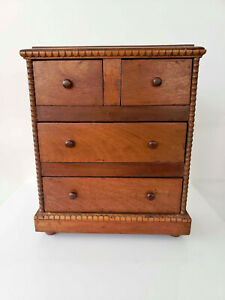 Antique Wooden Spice Chest Early 1900#x27;s $250.00