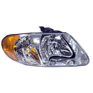 CH2503129N New Passenger Side Head Lamp Assembly $54.07