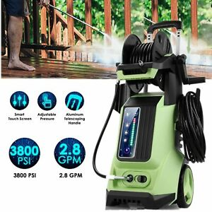 3800 PSI 2.8 GPM Smart Pressure Washer Electric High Power Surface Cleaner Kit $128.99