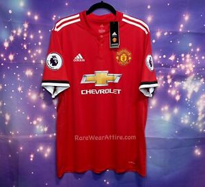 Adidas Manchester United #17 Alexis Sanchez Barclays League Jersey Sz Xl Nwt