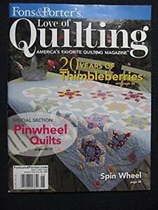 Fons and Porter#x27;s Love of Quilting Vol 13 Number 2 Issue #75 May June 2008 $12.87
