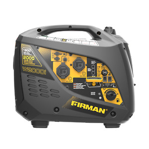 Firman Gas Inverter Generator Portable Quiet 1600W Running 2000W Peak NEW