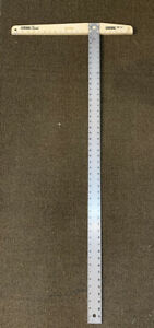 "Empire 420 Polycast 48"" T Square Drywall Heavy Duty Aluminum Blade $10.00"