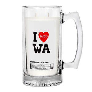 I MISS WA JEWELRY CANDLES MUG STATE SCENTED POPULAR amp; FAVORITE 100% SOY