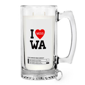 I MISS WA JEWELRY CANDLE JEWELRY MUG STATE SCENTED POPULAR amp; FAVORITE 100% SOY