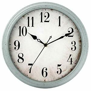 Wall Clock Battery Operated 12 inch Vintage Retro Silent Wall Clocks $32.82