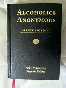 Alcoholic Anonymous DELUXE EDITION 75TH Keepsake Volume $9.99