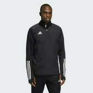 Adidas Men Condivo 20 Warm Top Running Athletic Black Training Top Size L NEW $49.99