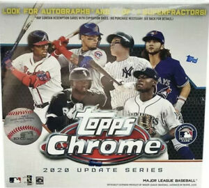 2020 TOPPS CHROME UPDATE YOU PICK COMPLETE YOUR SET 1 100 MINT $9.99