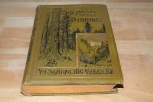1888 ANTIQUE IN THE HEART Of The SIERRAS YOSEMITE BIG TREES ETC HARDCOVER BOOK