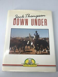 JACK THOMPSON DOWN UNDER LARGE HARDBACK BOOK Beautiful Australian Pictures AU $22.00