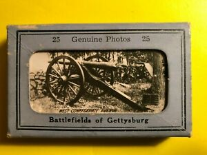 GETTYSBURG PA * SCENIC MINIATURES BATTLEFIELD VIEWS CIVIL WAR A $11.24