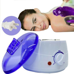 Professional Wax Warmer Heater Hair Removal Depilatory Home Waxing Kit Body Face $15.29