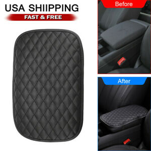Car Accessories Armrest Cushion Cover Center Console Box Pad Protector Universal $7.59